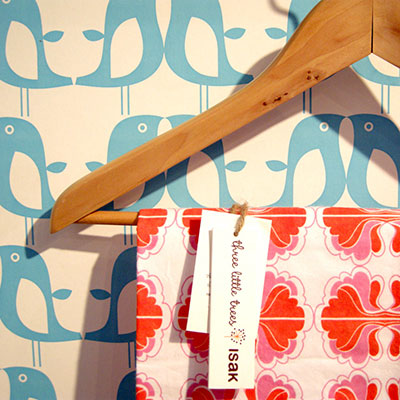 Wipe-able, sustainable, delectable wallpaper from Isak