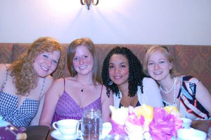Bethany, Stephanie, Helena and Alex