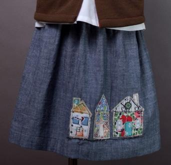 Neighbors Skirt by Plainly Jane