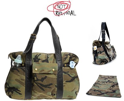 Not Rational diaper bag